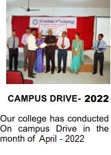 CAMPUS DRIVE-2017  Our college has conducted On campus Drive in the month of February-2017